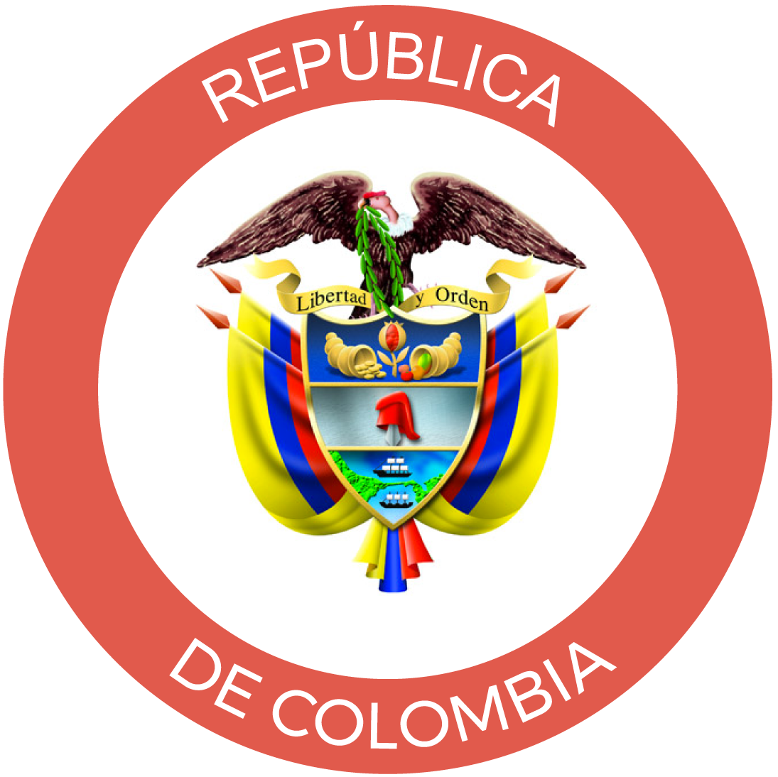 Logo Republica de Colombia