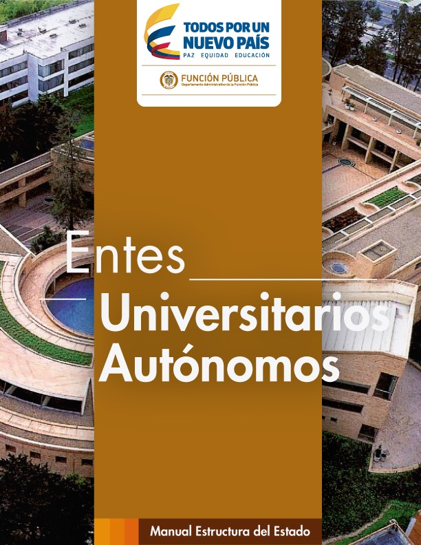 Manual de estructuta - Entes universitarios autónomos
