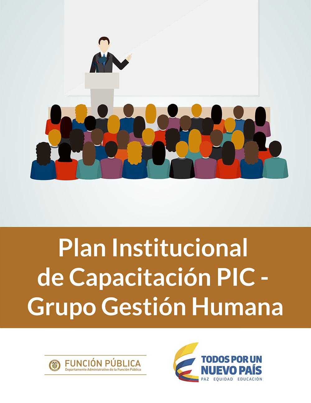 Plan institucional de Capacitación  -PIC-