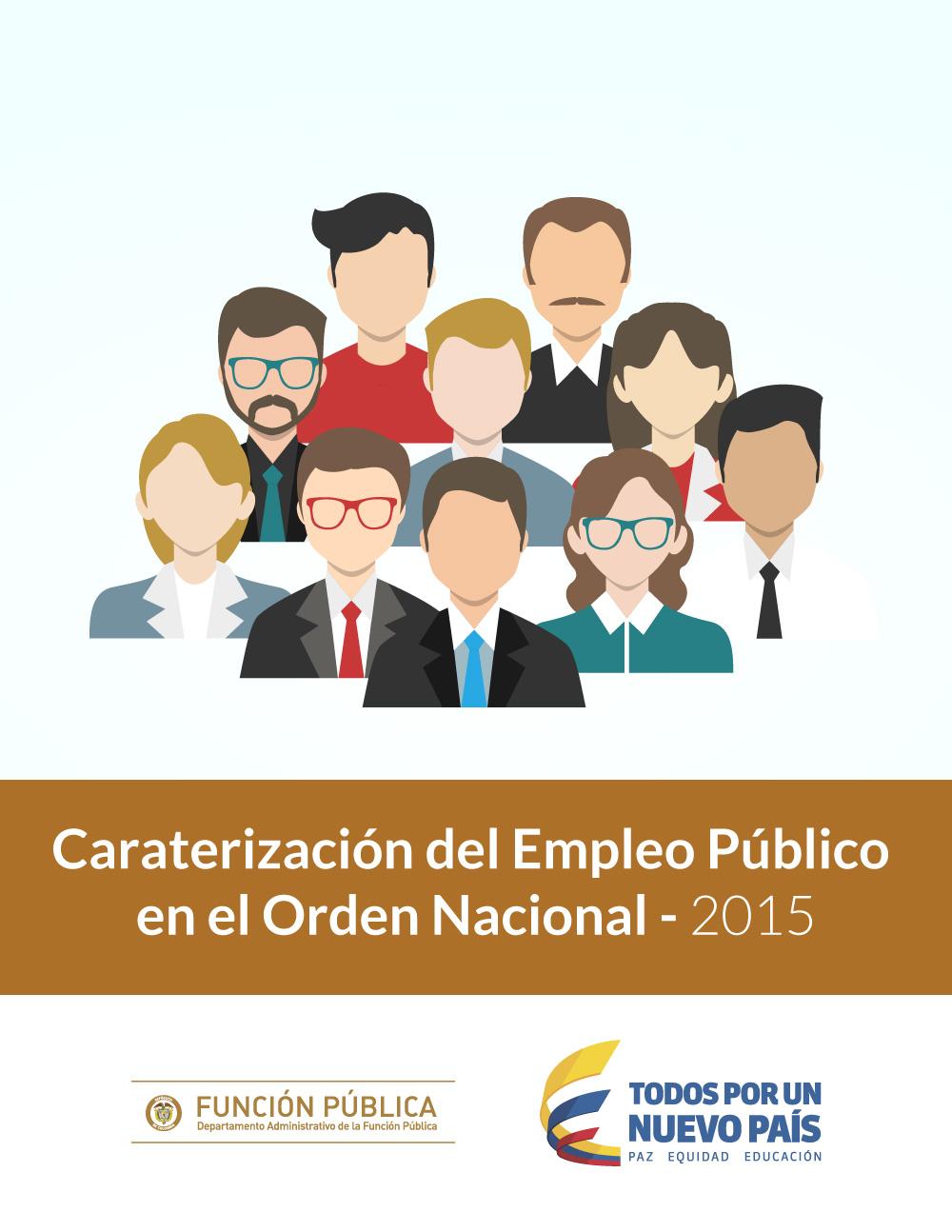 Caracterización del Empleo Público en el Orden Nacional