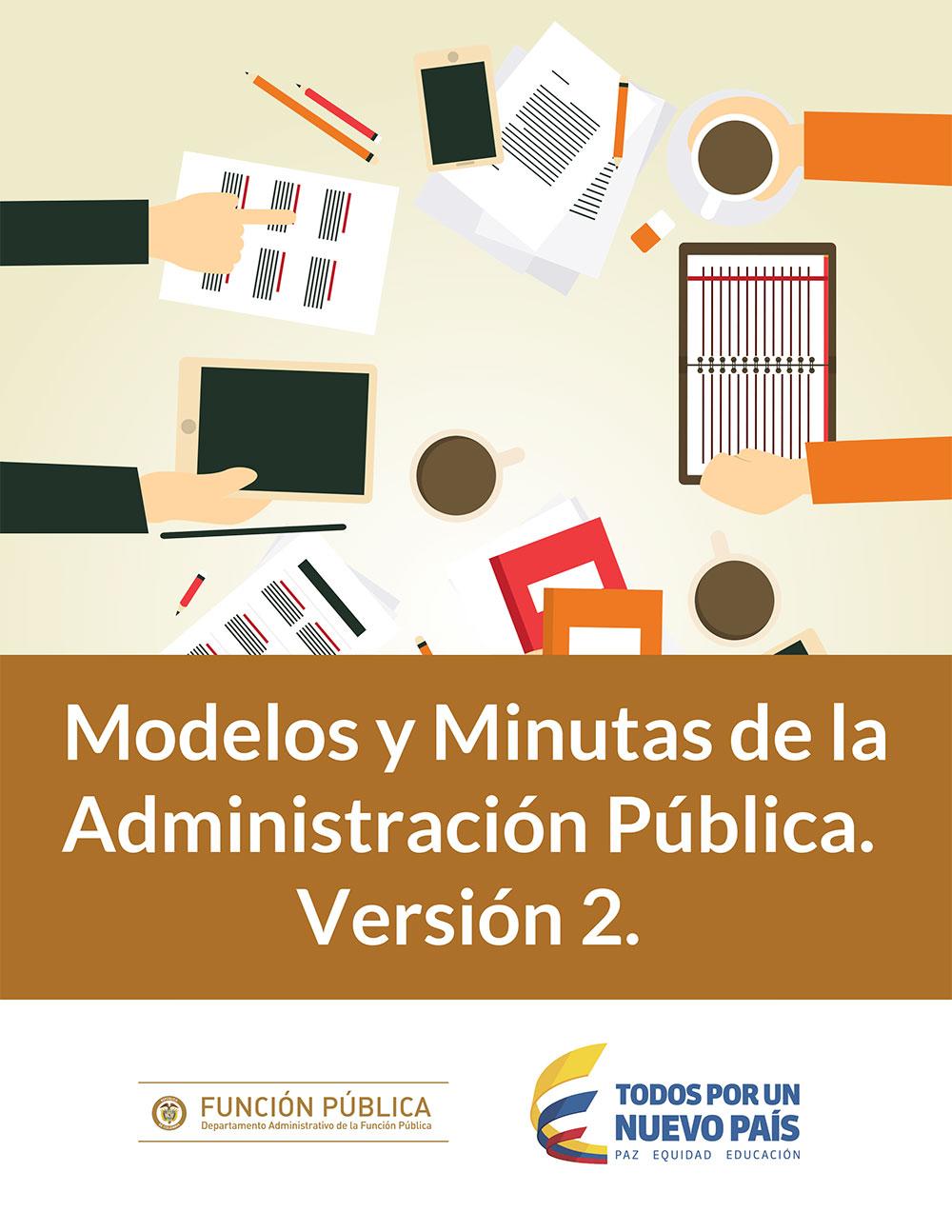Modelos y Minutas de la Administración Pública