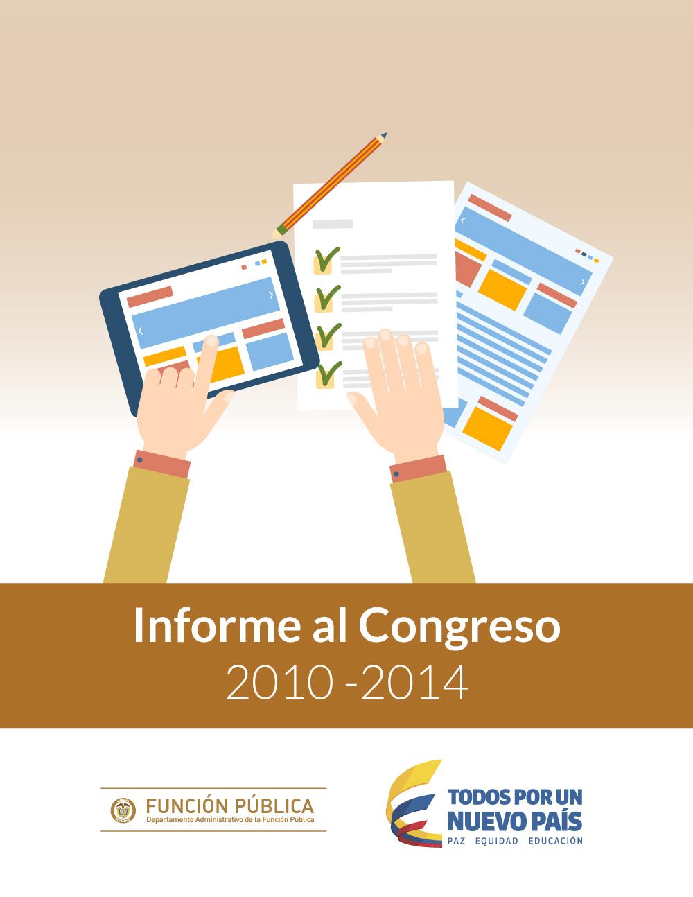 Informe al Congreso 2010 - 2014
