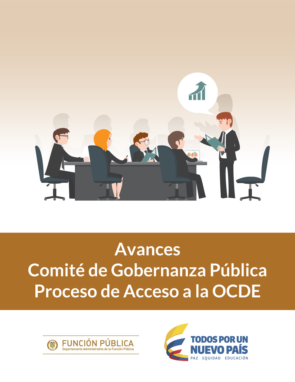 """Informe de la organización para la cooperación y desarrollo económico """"De la reforma administrativa a la mejora continua."""