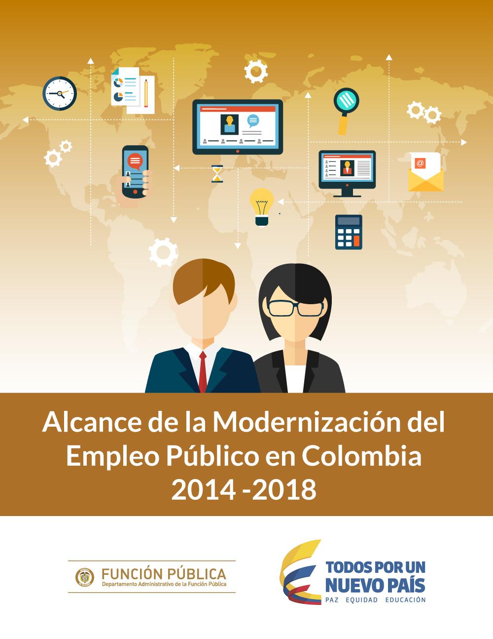 Alcance de la Modernización del Empleo Público en Colombia. 2014 -2018