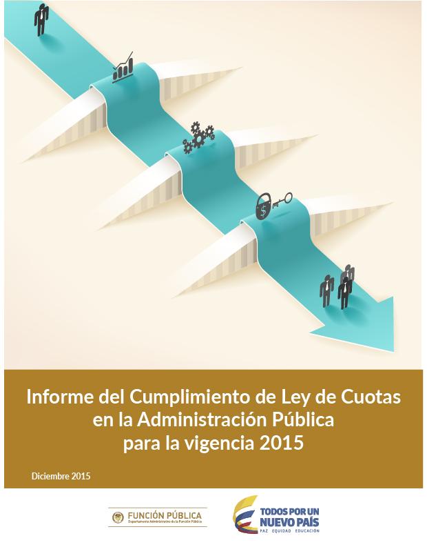 Informe de Ley de Cuotas Vigencia 2015