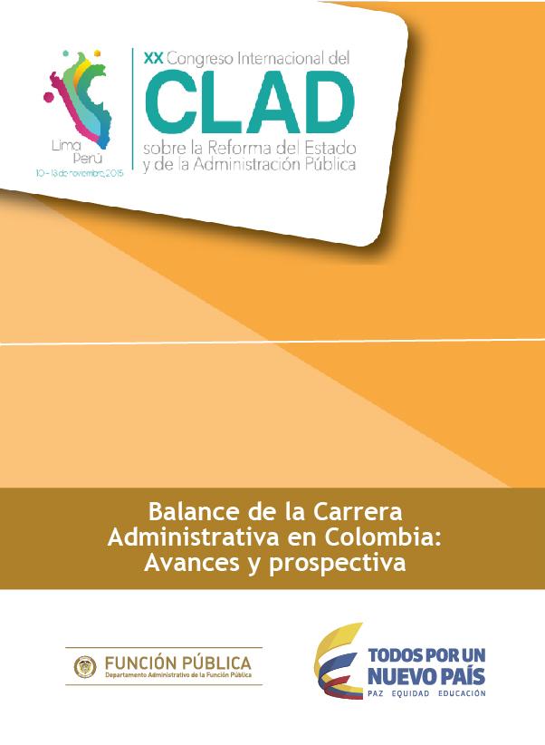 Balance de la Carrera Administrativa en Colombia