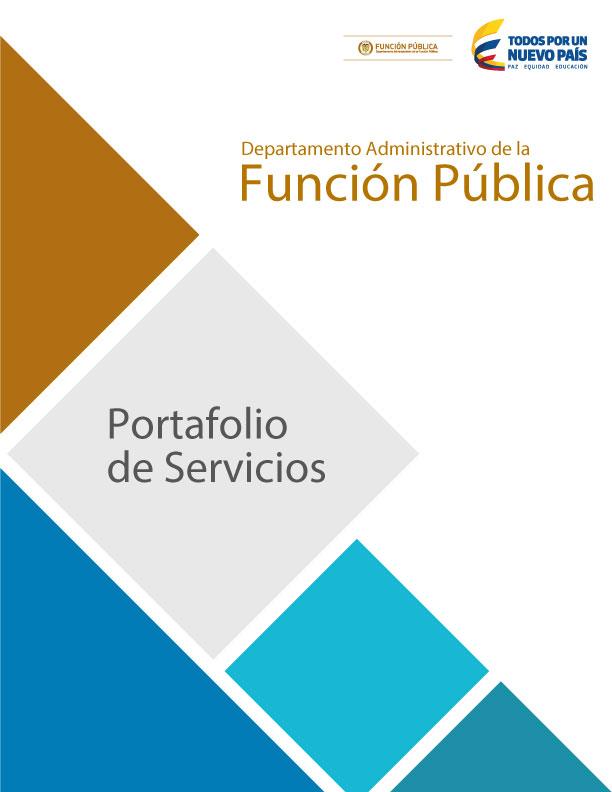 Portafolio de Servicios. PAZ. DAFP