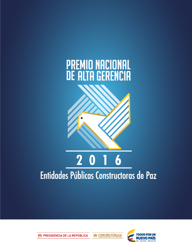 Cartilla de ganadores Premio Nacional de Alta Gerencia 2016
