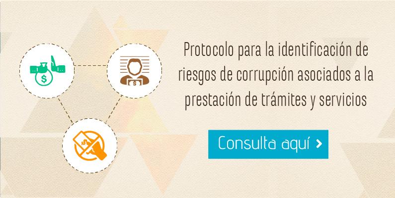 Protocolo para la identificación de riesgos de corrupción