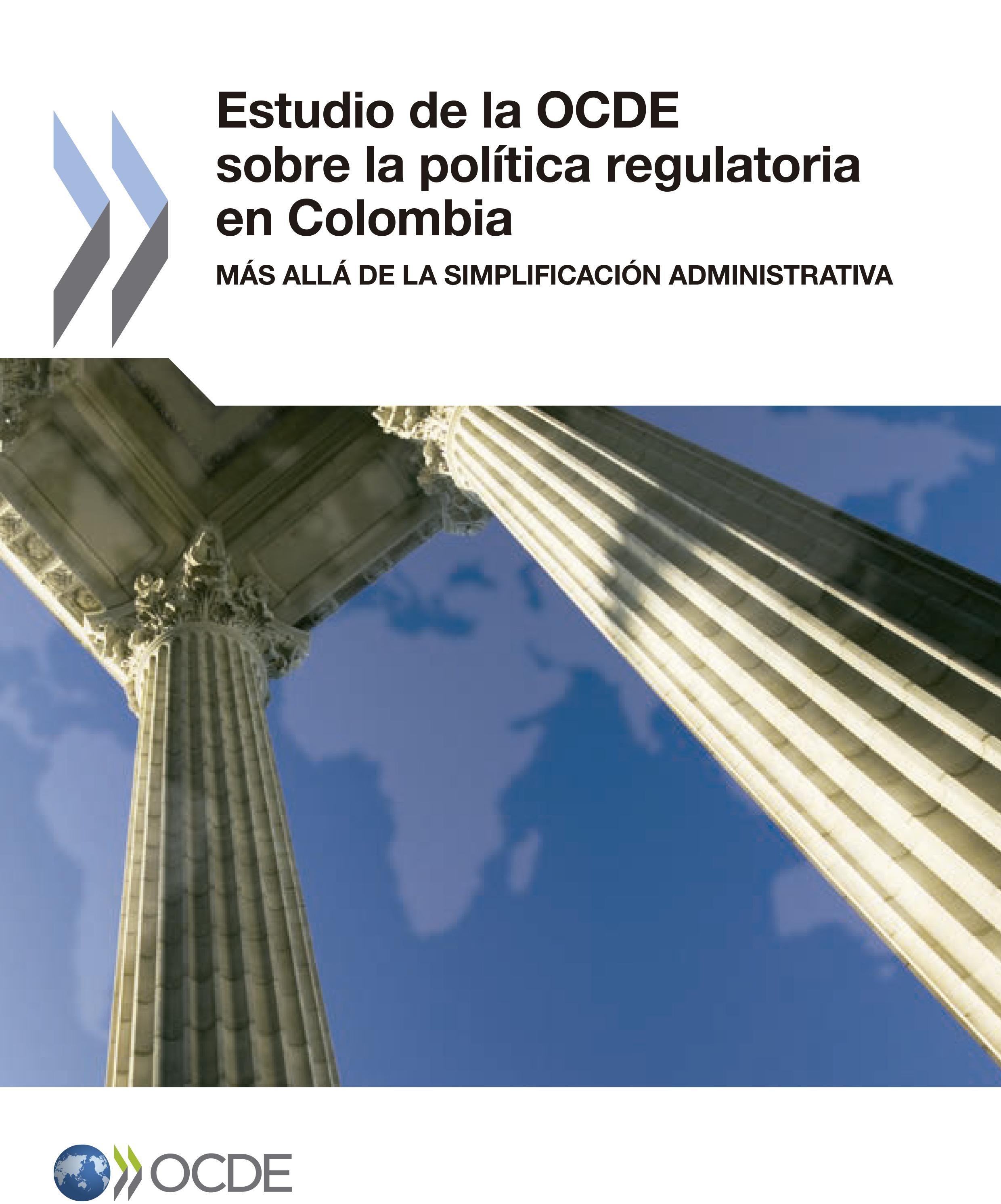 Estudio de la OCDE sobre la política regulatoria en Colombia