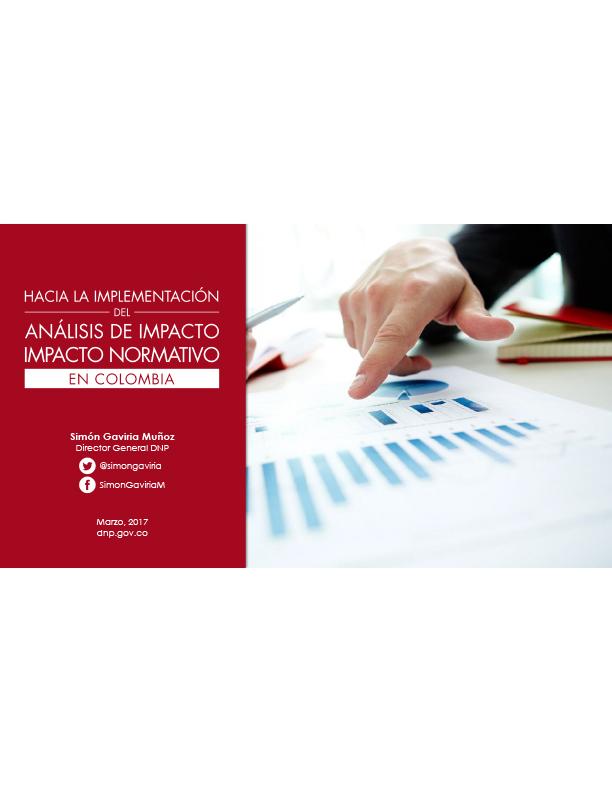 Hacia la Implementación del Análisis de Impacto Normativo en Colombia