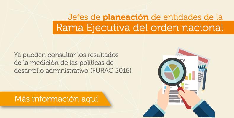 Resultados FURAG Vigencia 2016