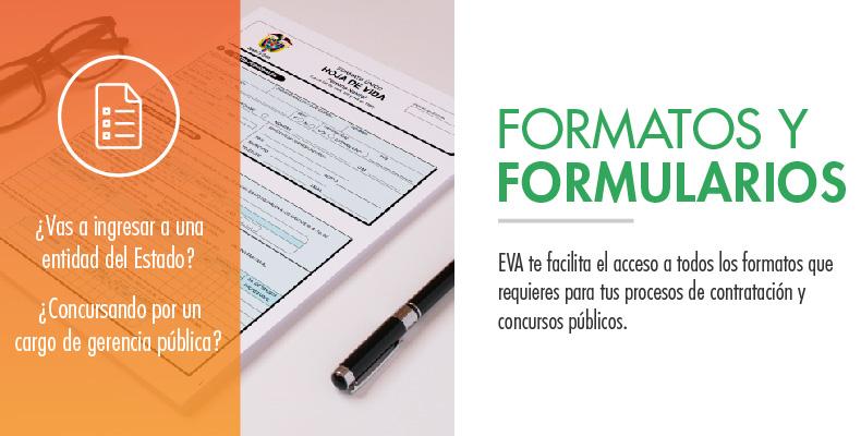 Formatos y Formularios