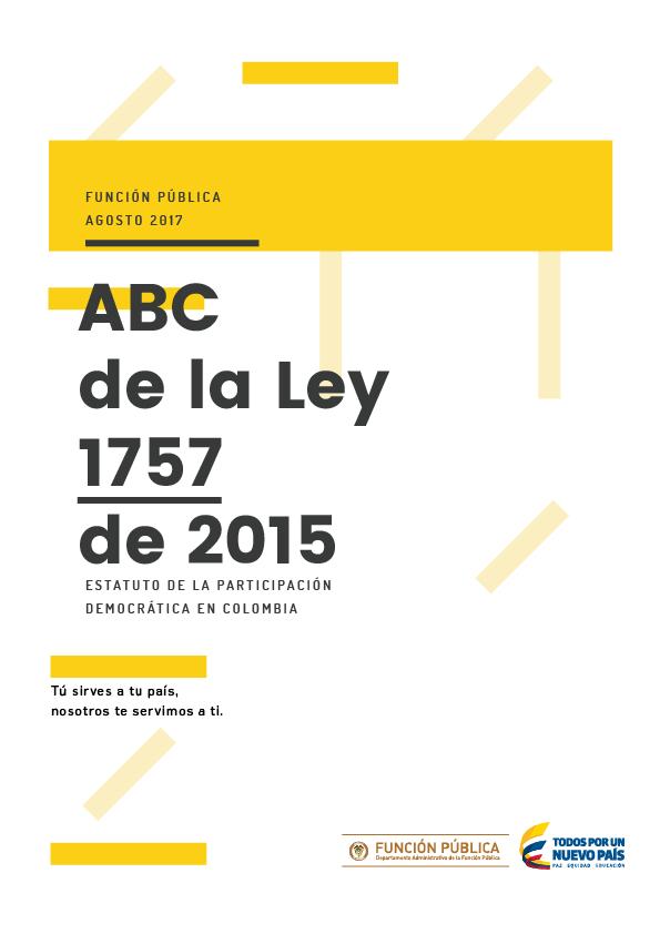 Estatuto de la Participación Democrática en Colombia
