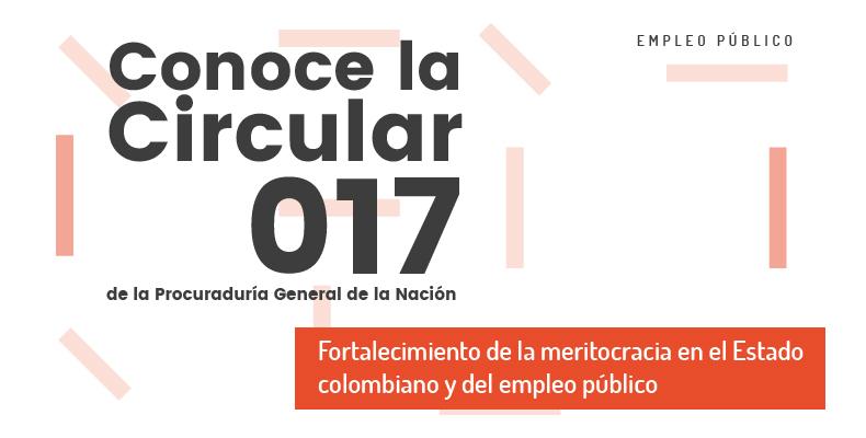 Fortalecimiento de la meritocracia en el Estado colombiano y del empleo público