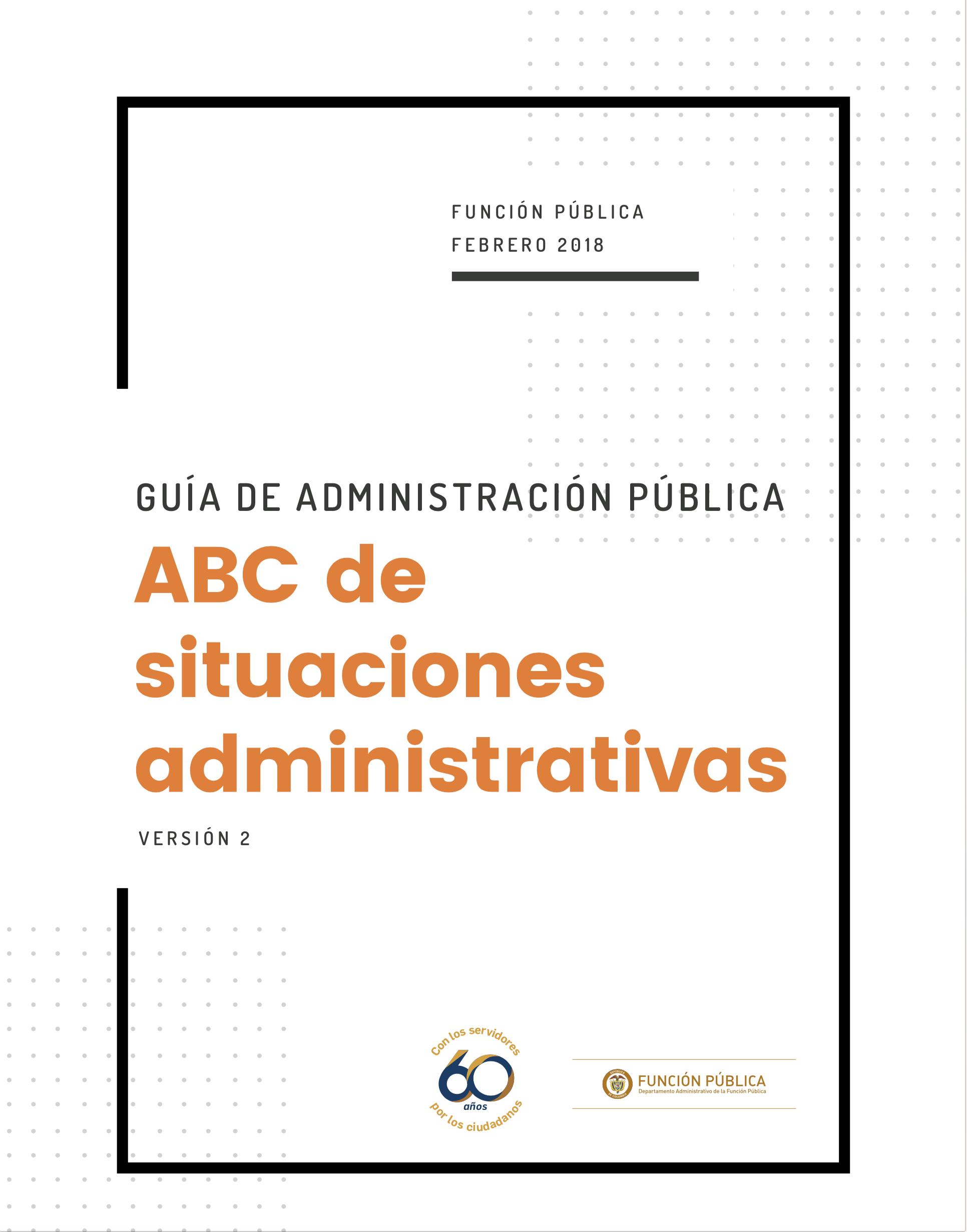 ABC de situaciones administrativas